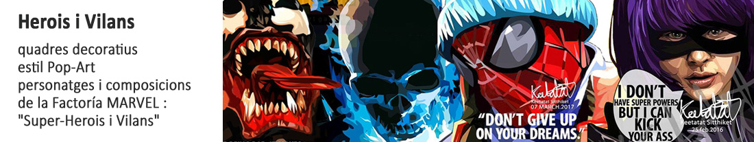 Marvel : Super-Herois i Vilans