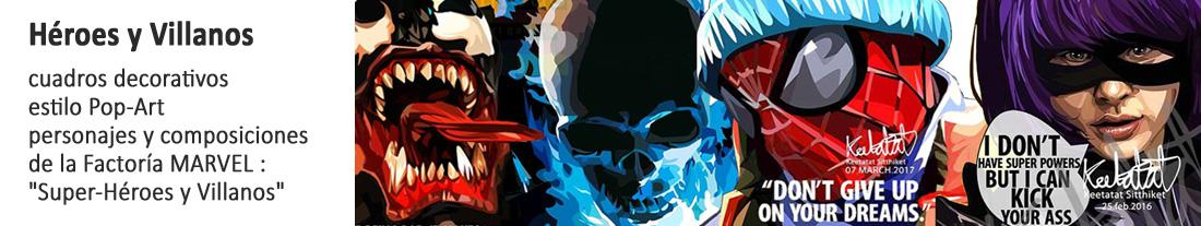 Marvel : Super-Héroes y Villanos