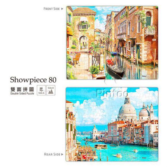 Puzzle Pintoo : Venice and Santa Maria della Salute-80 piezas
