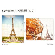 Puzzle Pintoo : The Magnificent Eiffel Tower-80 piezas