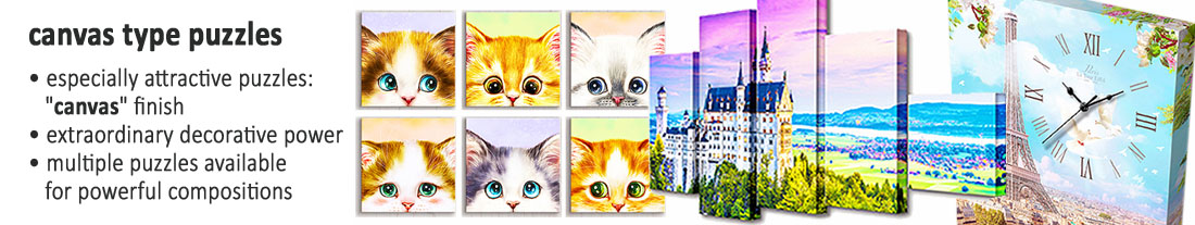 Pintoo: extraordinary Canvas puzzles - to buy