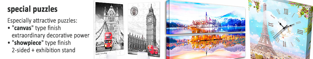 Pintoo: flat and 3D puzzles - special - canvas - to buy