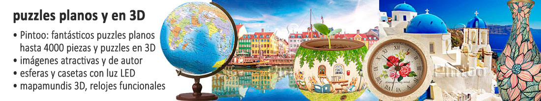 Pintoo: fantásticos puzzles en 2D y 3D - para comprar