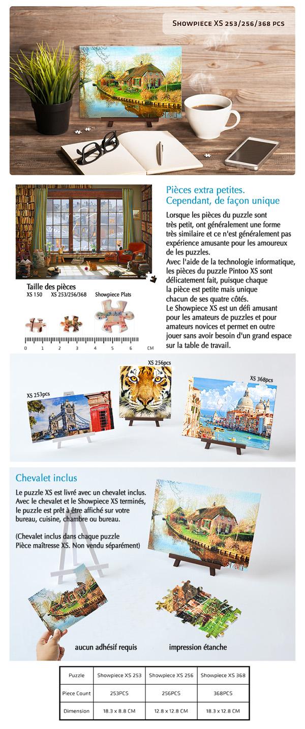 Pintoo : puzzles Showpiece XS