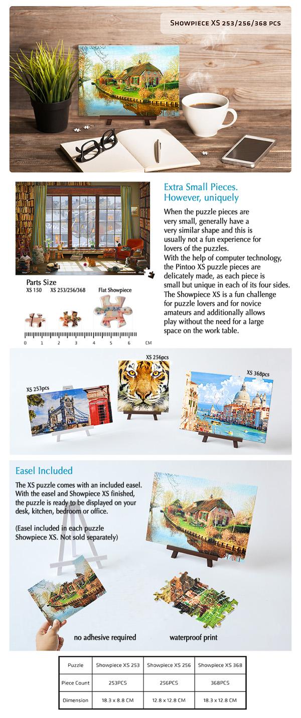 Pintoo : Showpiece XS puzzles