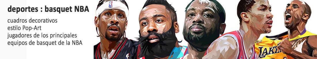 Basquet : jugadores de equipos NBA