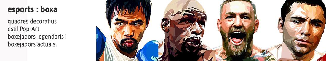 Boxejadors llegendàris i actuals