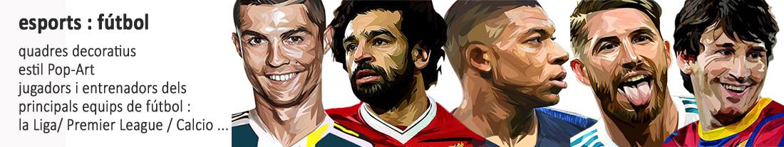 fútbol : jugadors i entremadors lligues d'Europa