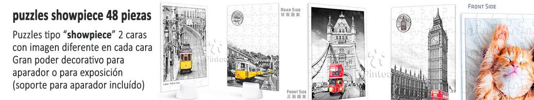 Pintoo : puzzles  showpiece  doble cara 48 piezas - para comprar